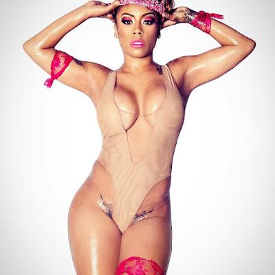 Singer Keyshia Cole sexy photos