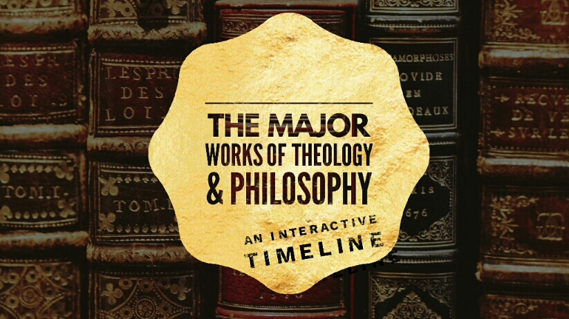 The Major Works of Theology & Philosophy -  An Interactive Timeline