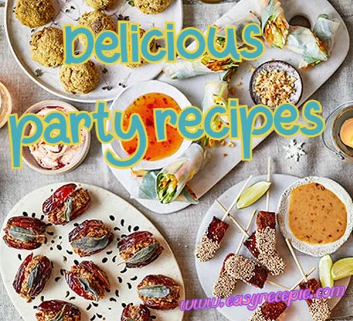 3 Unbelievably delicious party recipes that your guests will love