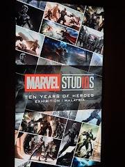 Marvel Studio In Malaysia - 10 Years Of Heroes Exhibition - Untuk Peminat Superheroes