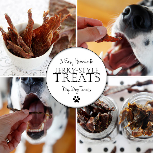 http://dalmatiandiy.blogspot.co.nz/2016/05/recipe-diy-jerky-treats-for-dogs-3-ways.html
