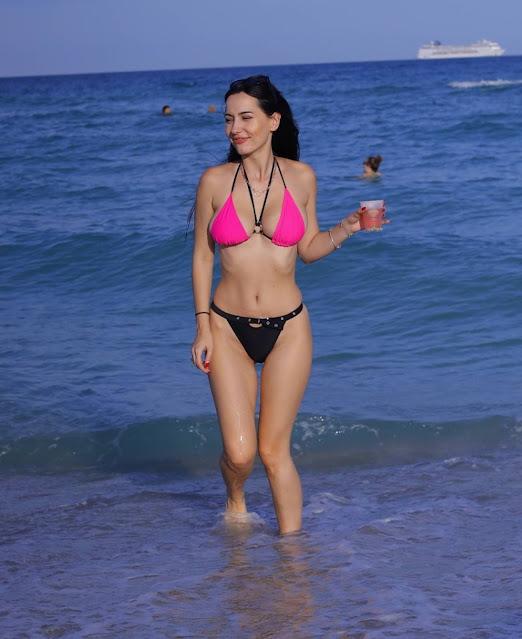 Iva Kovacevic – In a bikini in Miami