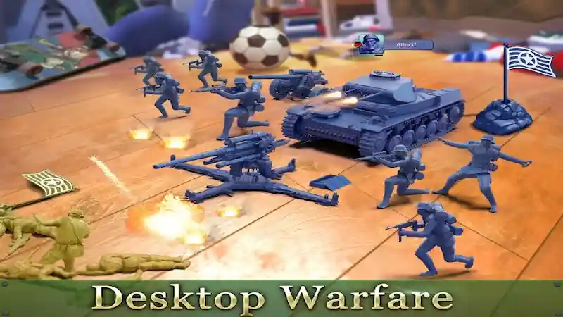 تحميل لعبة army man strike مهكرة اخر اصدار