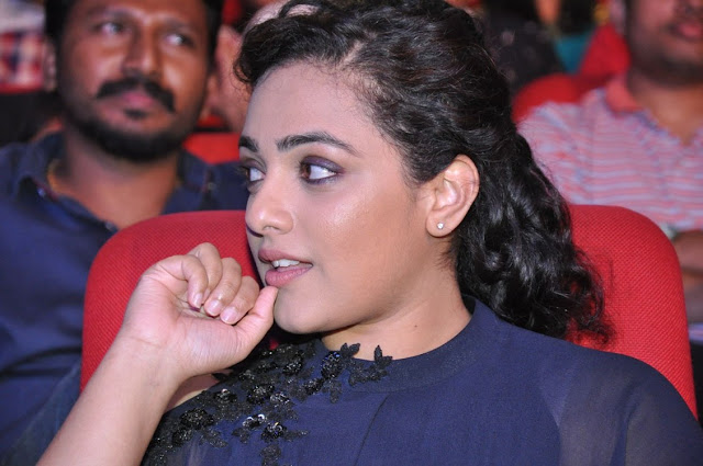 Nitya Menen Stills at Janatha Garage Audio Launch