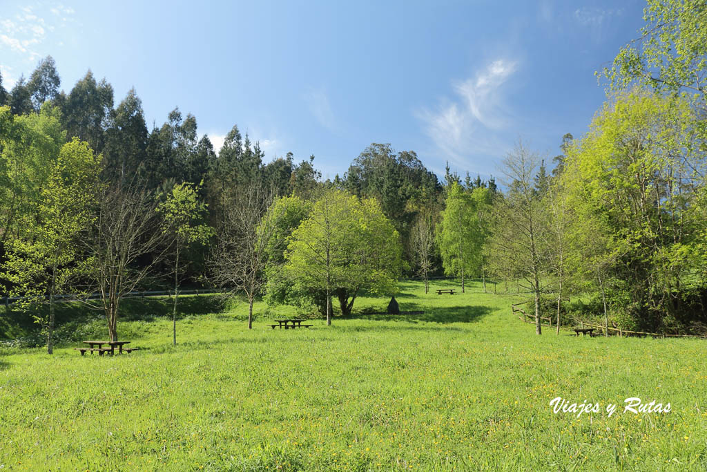 Zona de Pic-Nic Cuevas de Andina, Asturias