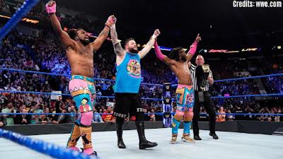 Kofi Kingston WWE SmackDown Live Kevin Owens Xavier Woods Big E