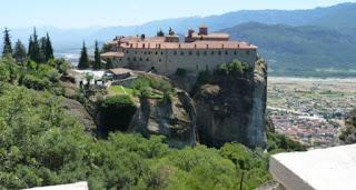 El Monasterio de San Esteban (Αγίου Στεφάνου).