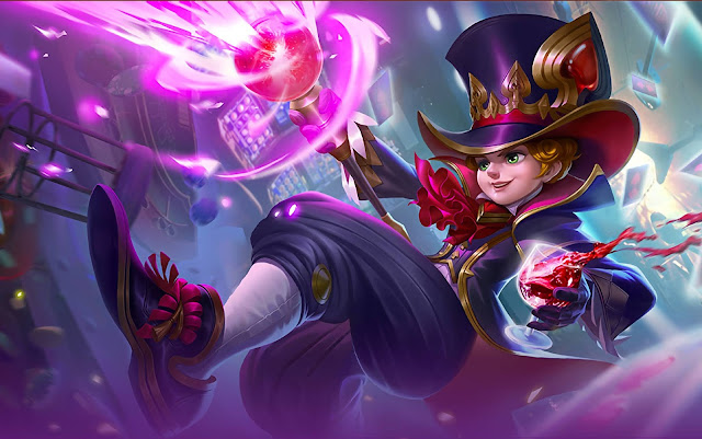 Harley Mage Genius Heroes Mage of Skins Mobile Legends Wallpaper HD for PC