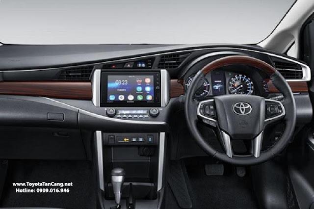 Nội thất xe Innova 2016 cũng được trang bị rất nhiều tiện nghi cao cấp