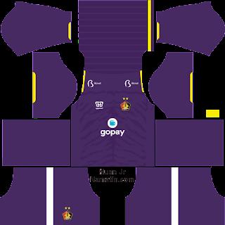 Download Kit Dream League Soccer Persik Kediri 2020