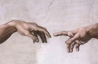 Dedo de Dios y Adan