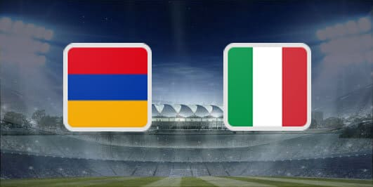 مباراة ايطاليا وارمينيا بتاريخ 18-11-2019 التصفيات المؤهلة ليورو 2020