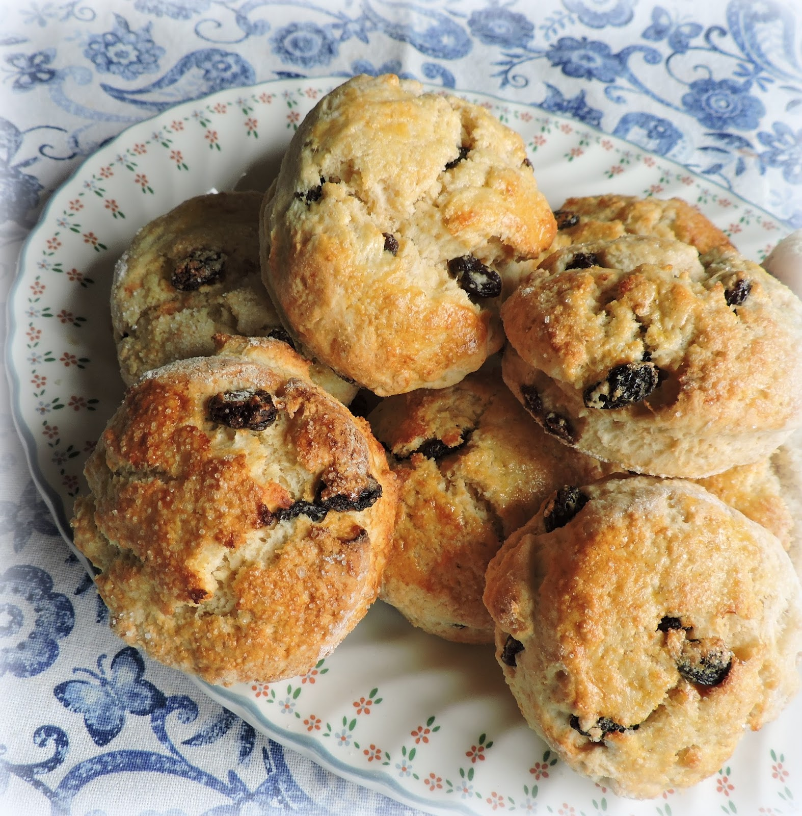 The English Kitchen: Fruited Scones