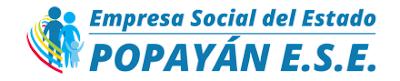 Citas Medicas Centro de Salud Coconuco Popayán