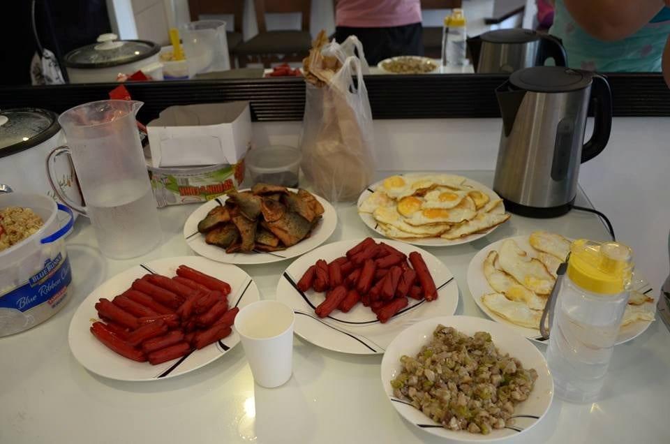 Our breakfast at Pico de Loro Beach & Country Club