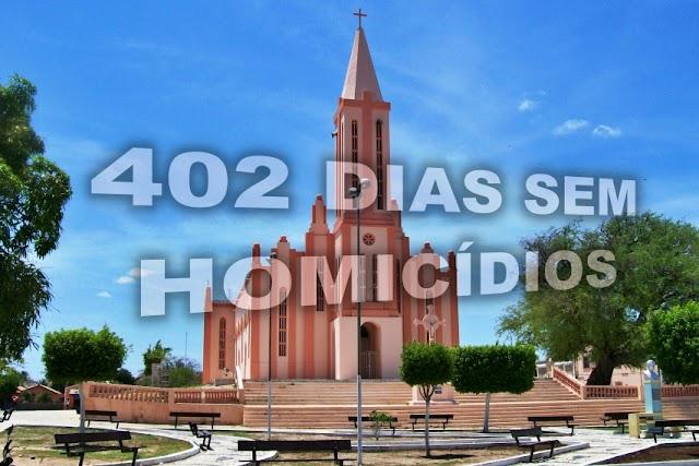 Município de Chaval há 402 dias sem homicídios segundo a Polícia Militar