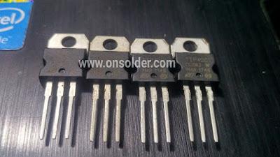 persamaan transistor tip41&42