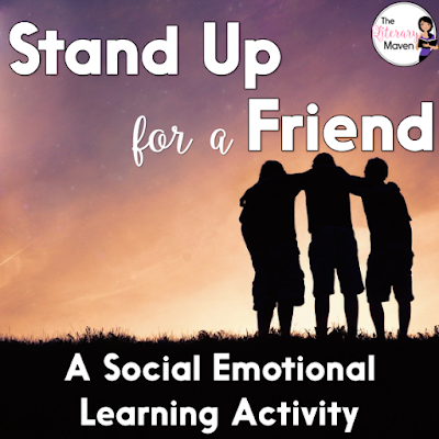 Stand Up For A Friend is a social emotional learning activity I used with my homeroom to help build empathy among students and show them that they are not alone in some (if not all) of the feelings they have.