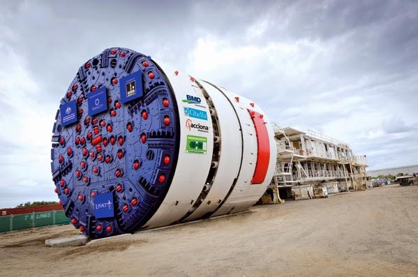 Tunnel Boring Machine Adalah Mesin Pembuat Terowongan Wasiwa