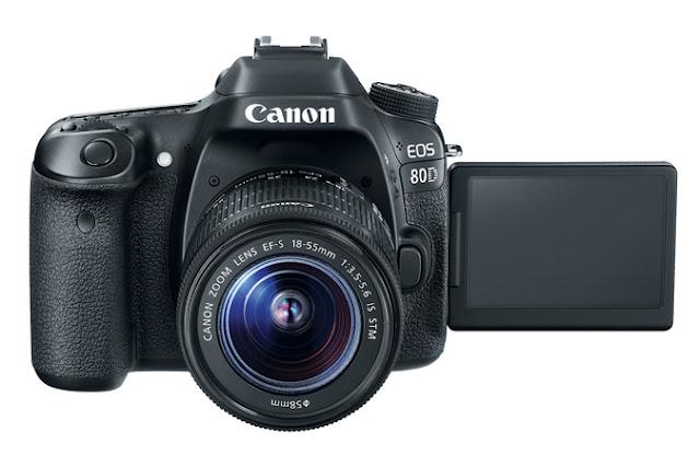 EOS 80D الكاميرا الجديدة من Canon