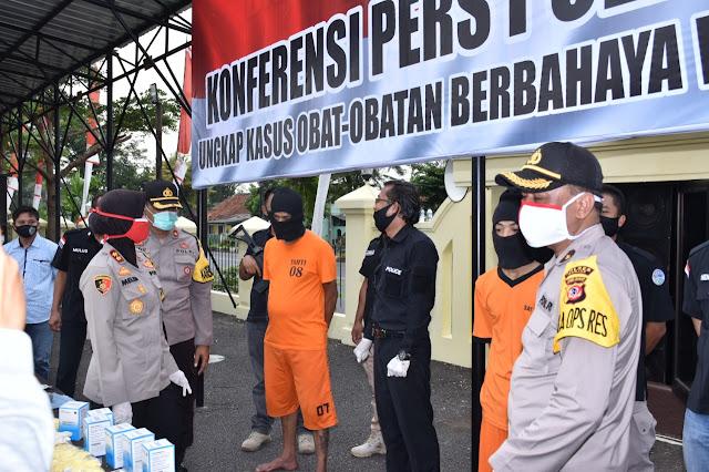 Polisi Amankan Bandar Besar Obat Ilegal Di Banjar