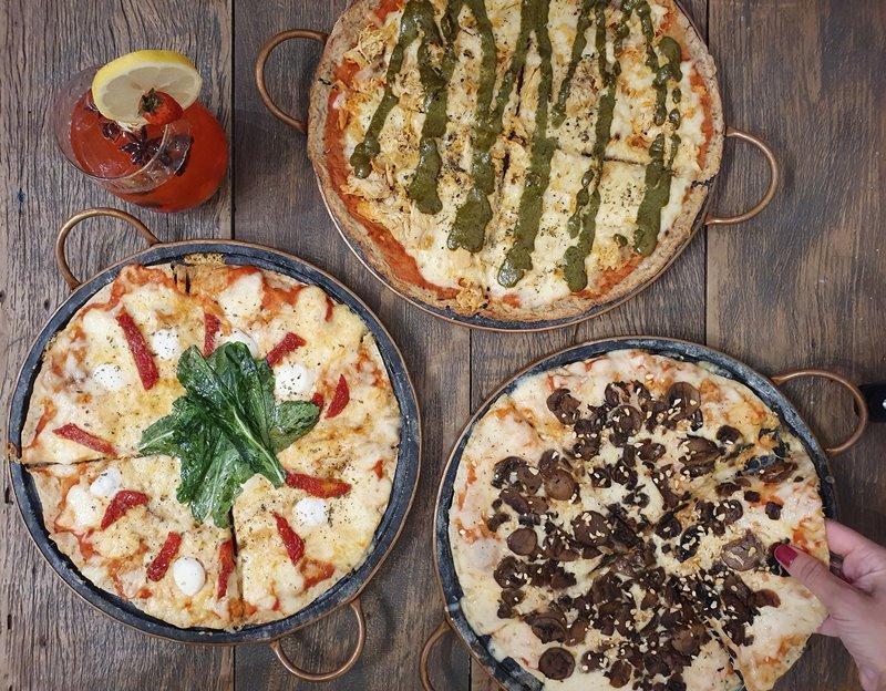 Pizza saudável em Vitória