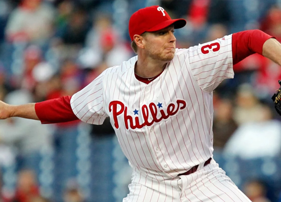Phillies pitchers Roy Halladay and Curt Schilling on Hall of Fame ballot
