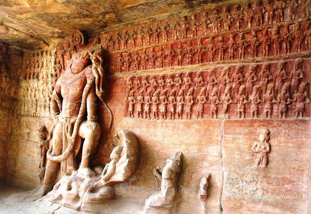 Udayagiri caves and Vidisha