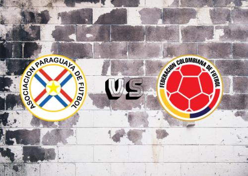 Paraguay vs Colombia  Resumen
