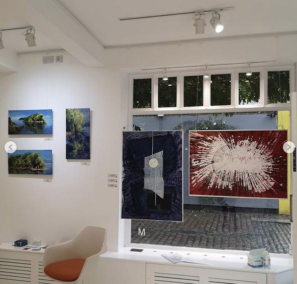 "Michele Bertoni ""Liminal Ties Unveiled"" J/M gallery, LondonJ/M gallery, London"