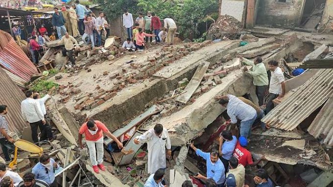 Dewas Building Collapsed in Madhya Pradesh