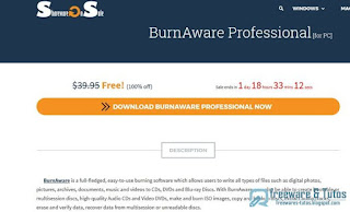Giveaway : BurnAware Pro gratuit !