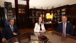 """La gobernadora calificó su reclamo de """"justo"""" y legítimo""""."""