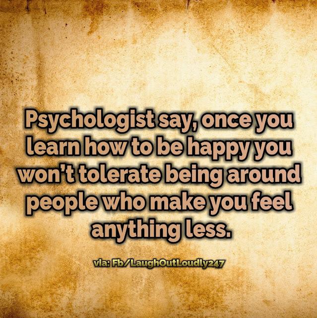 Avoid stress be Happy
