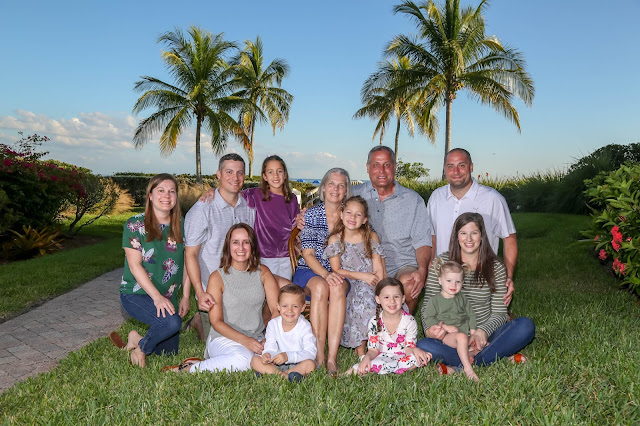 professional family photograph on sanibel