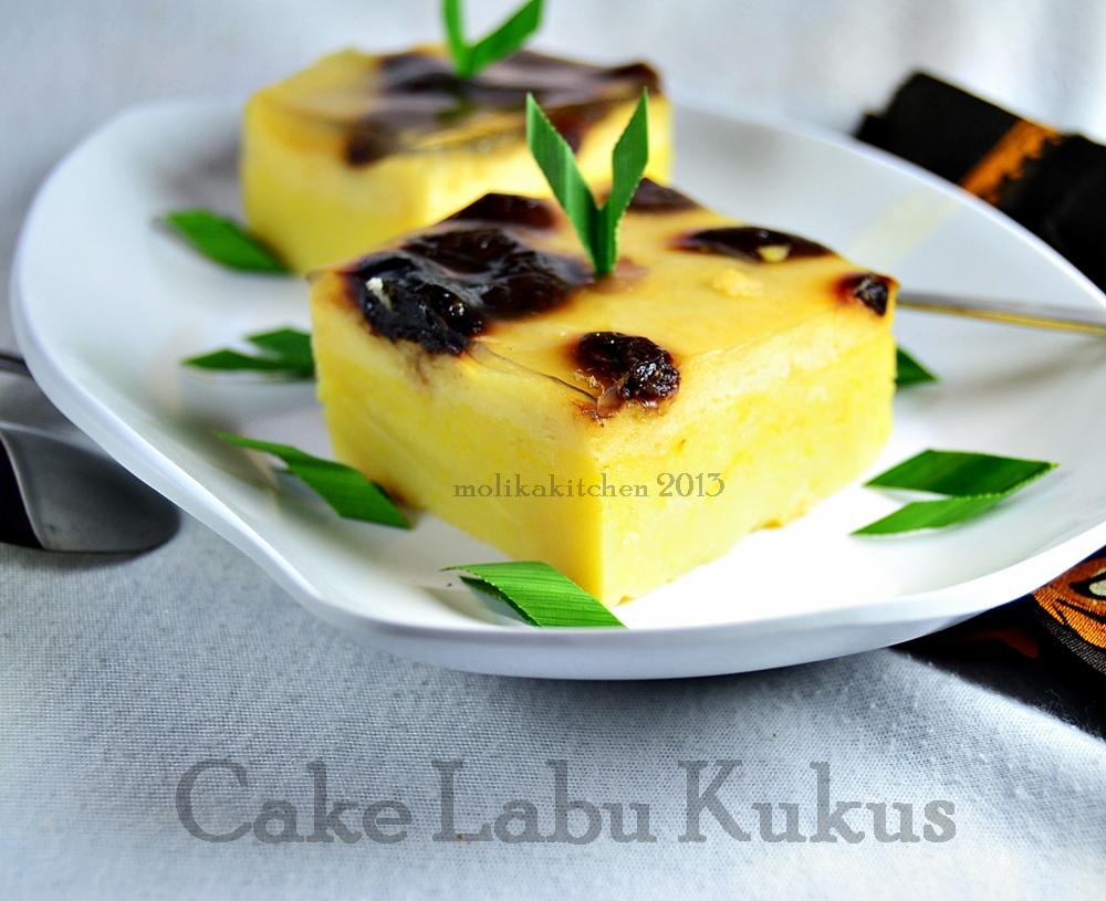 Resep Cake Kukus Hesti Kitchen: Molika Kitchen: Cake Labu Kukus
