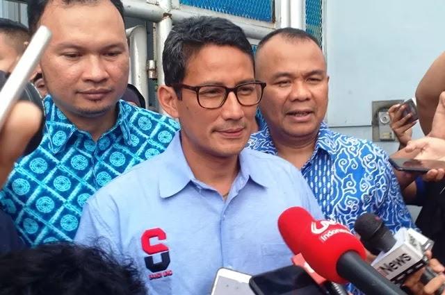Sandiaga Restui Istrinya Jadi Calon Wali Kota Tangsel