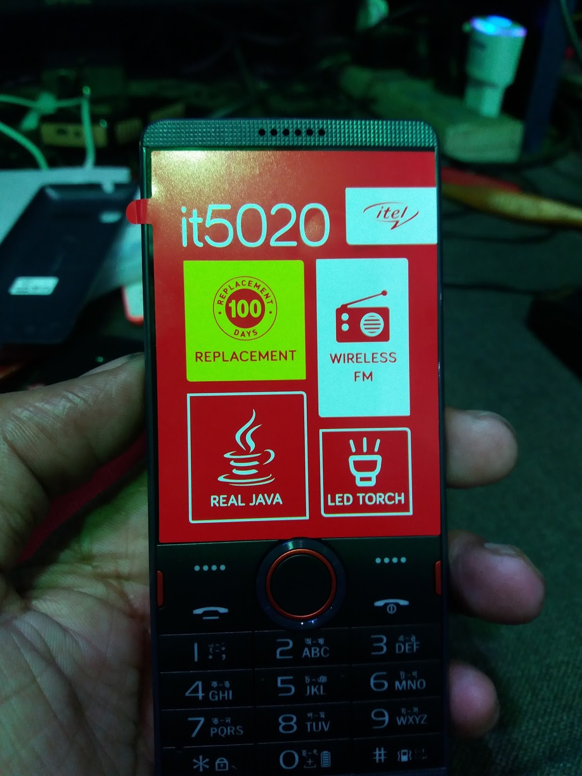 Itel It5020 Password
