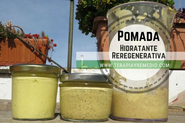 Pomada hidratante casera Regenerativa para la piel de las manos, la cara y el cuerpo. Te explicamos cómo puedes hacer esta maravillosa pomada para Hidratar.
