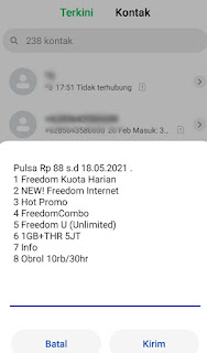 Cek Pulsa Indosat 363