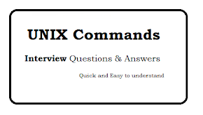 UNIX Commands Interview Questions and Answers