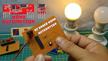 RF Based Home Automation