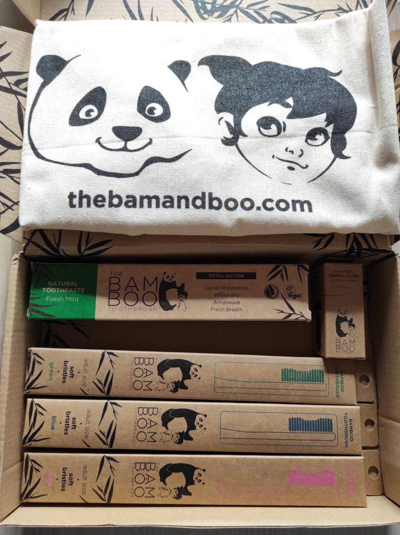 Box com vários produtos