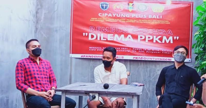 Evaluasi Kebijakan PPKM, Cipayung Plus Bali Gelar Rembuk Pemuda