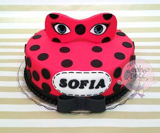 ideia Bolo festa Ladybug
