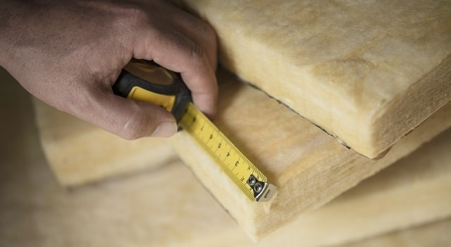 different types of insulation building heating