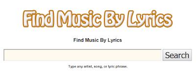 Find Music By Lyrics