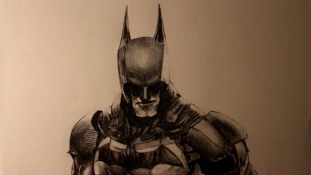 How To Draw Batman From Batman: Arkham Knight