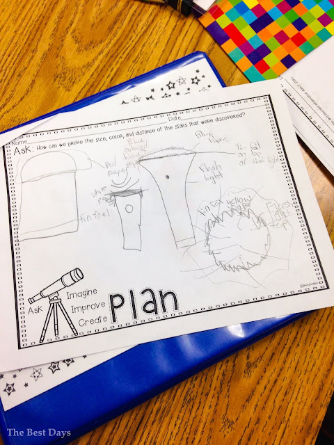 Star STEM planning page