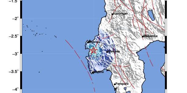 Gempa M4,2 Kembali Guncang Sulbar, BMKG: Gempa Susulan Masih Terjadi